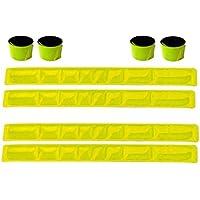 Libetui Set Reflexband - Reflektorband Schnapparmband Reflexbänder - in Verschiedenen Farben