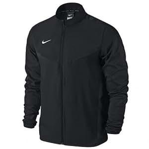 Nike Men's Team Performance Shield Jacket - Black/White, Small