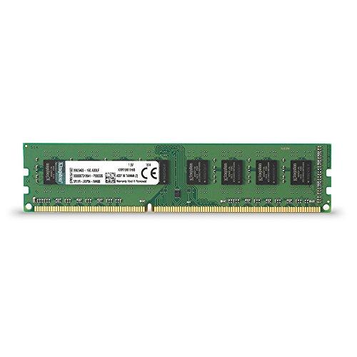 Kingston KVR16N11H/8 - Memoria RAM de 8 GB (1600 MHz DDR3 Non-ECC CL11 DIMM, 240-pin, 1.5V)