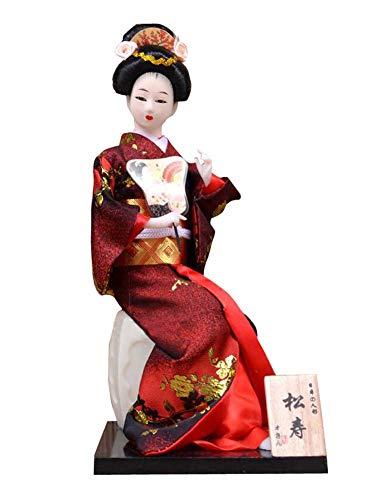Sushi Bar Kostüm - Black Temptation Japanische einzigartige Geisha Vintage