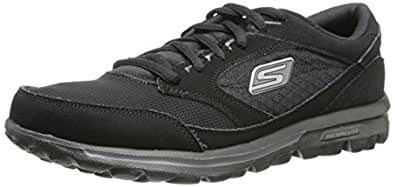 Skechers GO Walk Baby Trainers Womens Black Schwarz (BBK) Size:  2UK(35EU)