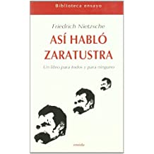 Asi Hablo Zaratustra (Ensayo)