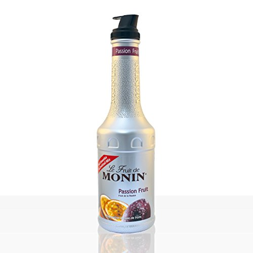 Monin - Passion Fruit Purée, 1er Pack (1 x 1 l)