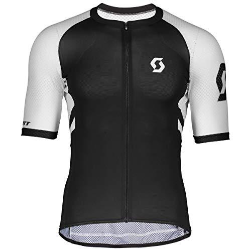 Scott RC Premium Climber Fahrrad Trikot kurz schwarz/weiß 2019: Größe: M (46/48)