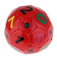 Descrizione: - Pallone da calcio calcio ufficiale da 2 pezzi Premium PU per bambini - Piccolo, compatto, leggero, resistente, facile da impugnare - Con un ago della pompa di gonfiaggio a sfera, faci...
