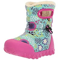 Bogs Baby B-Moc Waterproof Insulated Kids/Toddler Winter Boot, Reef Print/Mint Green/Multi, 5 M US