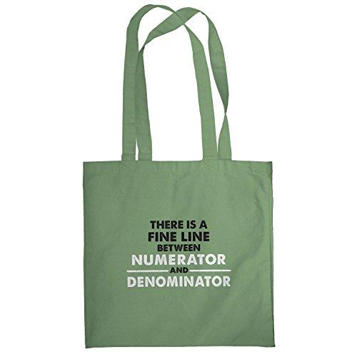 Texlab–numerator denominator–sacchetto di stoffa Oliva