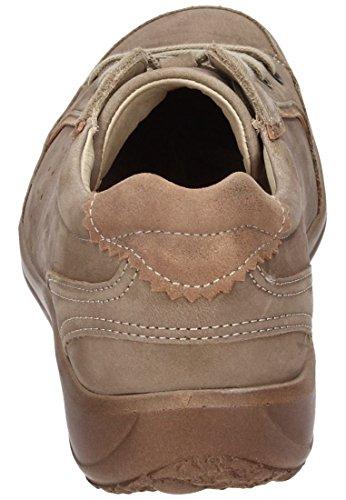 CUSHY Dr.Brinkmann Damen Ballerinas, Schnuerschuhe, Sneakers blau, 850269-5 Beige