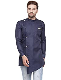 Ben Martin Men's Cotton Angrakha Short Kurta