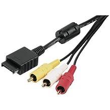 Hama RGB/Cinch-Kabel für PS2 und PS3
