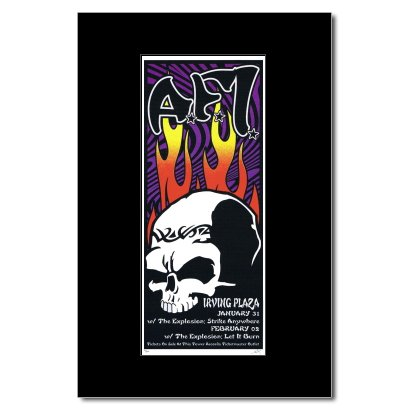 AFI - Irving Plaza NYC 2003 Matted Mini Poster - 33x9.2cm