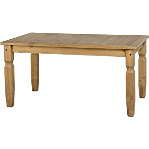 41PMSB4hNTL. SS300  - Corona 5' Dining Table in Distressed Waxed Pine