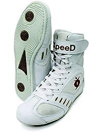 "xpeed Boxeo/Lucha Zapatos ""xpeed en color blanco, blanco, 9"