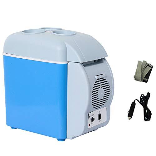 FRIDGE Auto KüHlschrank 12v, 7,5l Tragbarer Elektrischer Minikühlschrank, Zum Kühlen Und Heizen, Mit Getränkehalter Und Netzkabel - Externe Netzkabel