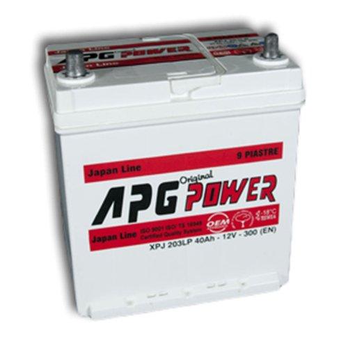 APG XPJ203L ORIGINAL JAPAN LINE - Batteria auto, 40Ah