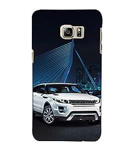 Fuson Designer Back Case Cover for Samsung Galaxy Note 5 :: Samsung Galaxy Note 5 N920G :: Samsung Galaxy Note5 N920T N920A N920I (Luxury Car On Road)