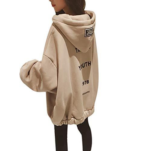 Hoodie Pullover Damen Liusdh