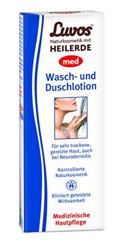 Luvos cosmétique naturel Med laver Lotion de bain et douche 200 ml