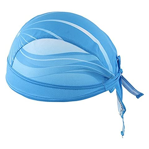 HYSENM Men Sports Headwear Hat Outdoor Sunscreen Cycling Bandana Cap Skull Cap Fashion Antibacterial Quick Dry Breathable,