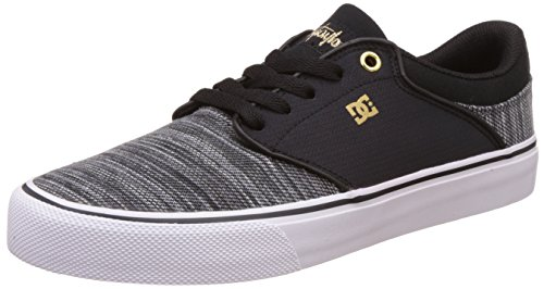 dc-shoes-mikey-taylor-vulc-tx-se-zapatillas-para-hombre-negro-black-grey-white-44-eu