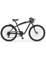 Bicicletas MBM WAIMEA crucero de los hombres del deporte del marco de aleación de aluminio (Matt Black)
