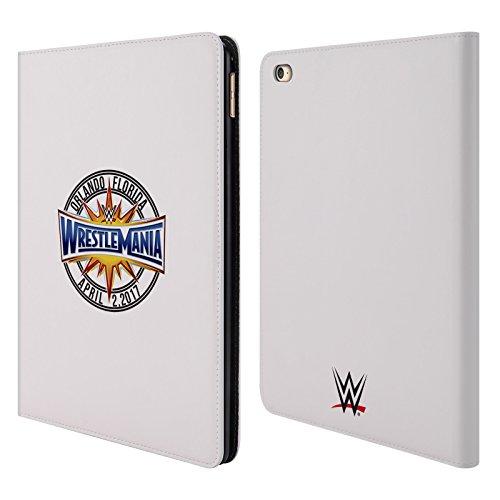 Offizielle WWE Logo Wrestlemania 33 Brieftasche Handyhülle aus Leder für iPad Air 2 (2014) (Ipad Air 2 Case-hulk)