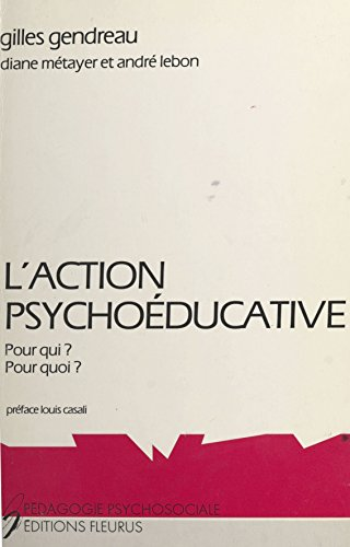 L'action psychoéducative : pour qui ? pour quoi ?