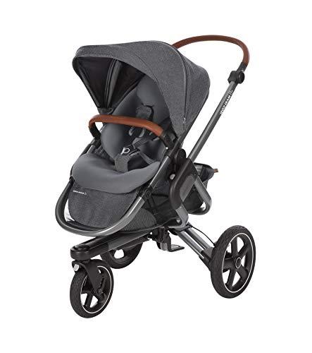 Maxi-Cosi 1307956110 Nova - Passeggino a 3 ruote, utilizzabile dalla nascita fino a circa 3, 5 anni, comodo passeggino fuoristrada, colore: Grigio