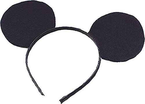 Image of Mouse Ears On Headband - Kids Accessory