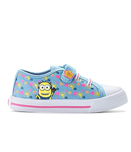 Minions Despicable Me Kids Sneaker - bleu clair