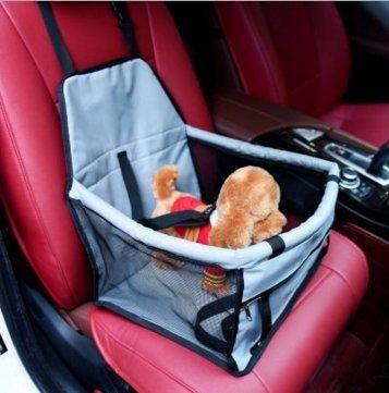 Carrier Air Conditioner (Pet Auto Booster Sitz Hund Katze Puppy Travel Tasche Käfig Deluxe tragbar mit Wechselrahmen Sicherheit Leine, Laufgitter einfach zusammenklappbar)