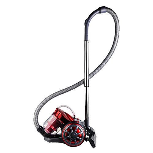 Aspiradora De Mano con Cable, Silenciosa para El Hogar, Sin Consumibles, Aspiradora Seca, Aspiradora Potente De Alta Potencia De 220V, 1600 W (Rojo)