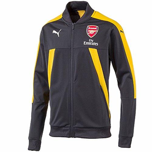 22d4de9bf6 Puma Arsenal FC Stadium Jacket Veste de Football Homme Gris Jaune