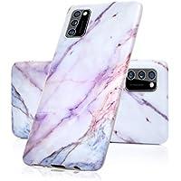 Vogu'SaNa - Funda para teléfono móvil Samsung Galaxy A41, de mármol y silicona mate, diseño de mármol, suave, funda fina para teléfono móvil, carcasa blanda, funda de TPU