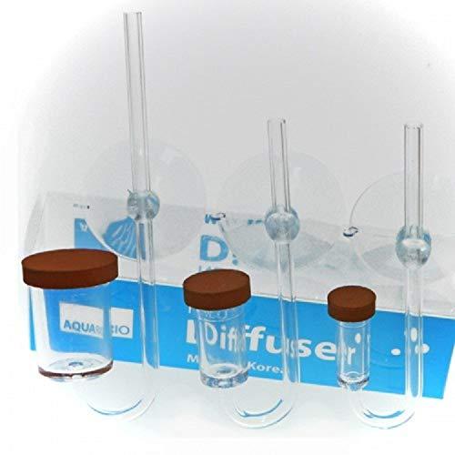 AquaRio Co2 - Difusor S 2 1 Contador Burbujas Cristal
