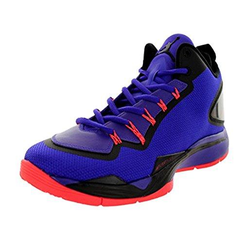 Nike Jordan Men's Jordan Super.Fly 2 PO Drk Cncrd/Drk Cncrd/Blck/Infrr Basketball Shoe 10.5 Men US