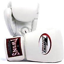 BGVL-3Gemelos guantes de boxeo (blanco, 12oz)