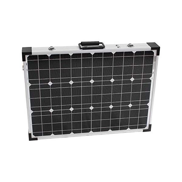 120W 12V Photonic Universe portable folding solar charging kit with protective case and 5m cable for a motorhome… 4