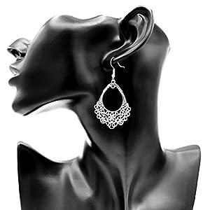 @LUCIL – 1001 NIGHT – Ohrringe Ohrhänger Hängeohrringe Mandala Muster hängend