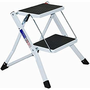 Hymer 603002 Folding Aluminium Step Ladder With 2 Steps