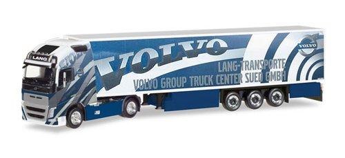 Herpa 308014 FH 16 GL. XL Kühlkoffer-Sattelzug Lang Transporte/Volvo Truck Center Sued GmbH