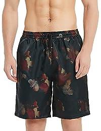 52506bc33d20 BALCONY&FALCON Costume da Bagno Uomo, Pantalocini da Bagno per Uomo  Calzoncini da Bagno da Uomo Pantaloncini da Spiaggia Pantaloncini…