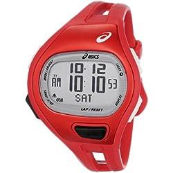 Asics Unisex CQAP0104 Cadence SPM Red Digital Running Reloj