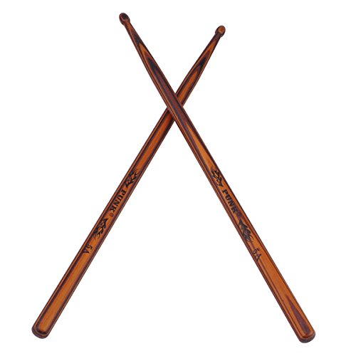 5A Wooden Drumsticks Drum Sticks Hard Maple Wood Drum Set Percussion Instrument Accessories of 1Pair