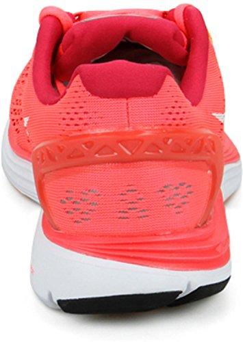 Nike Wmns Nike Lunarglide+ 5, basket femme Naranja (Lsr Crmsn / White-Lgn Rd-Atmc Mn)