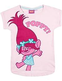 TROLLS Chicas Camiseta Manga Corta - Rosa