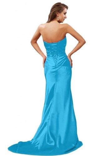 Sunvary sirena senza spalline, in stile elegante, per abiti da sera Blue