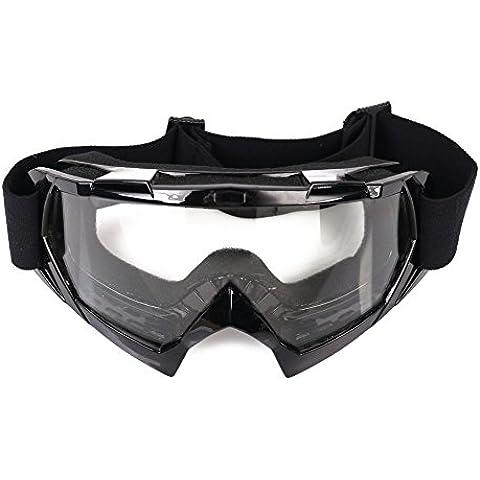 Viso Occhiali da sole di protezione Occhialoni moto per attività esterna Motocicletta / Cross / ATV / Sci / Anti-UV trasparente