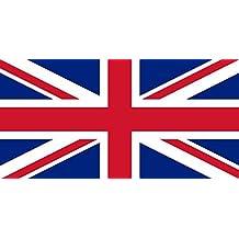 Reino Unido 152,4 cm x 91,44 cm - grande bandera 100% poliéster - ojales de Metal - doble costura