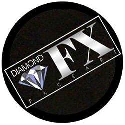 Diamond FX esencial cara de rellenado de pintura - negro (10 g)